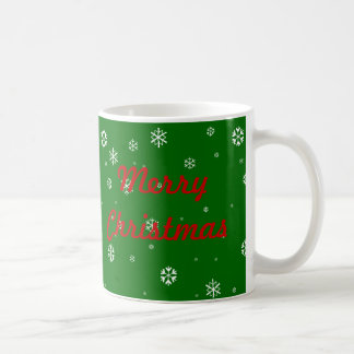 Mug Flocons de neige de Joyeux Noël