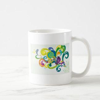 Mug Floral psychédélique
