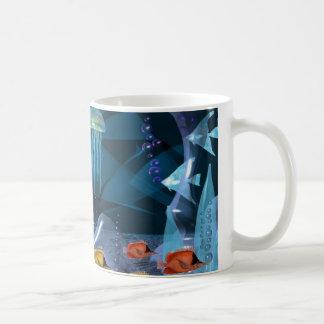 Mug Flotteur en cristal de méduses par Valxart