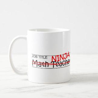 Mug Fonction Ninja - professeur de maths