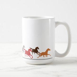 Mug Fonctionnement de chevaux sauvages