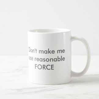 Mug Force raisonnable
