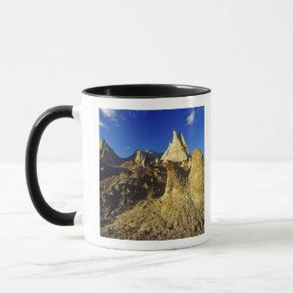 Mug Formations de bad-lands au parc provincial 2 de