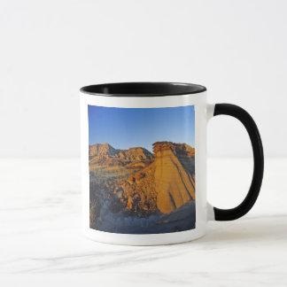 Mug Formations de bad-lands au parc provincial 3 de