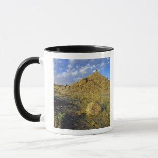 Mug Formations de bad-lands au parc provincial de