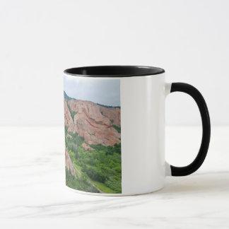 Mug Formations de vallée et de roche chez Roxborough