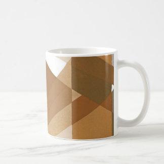 Mug Formes géométriques bronzages d'art déco de jazz