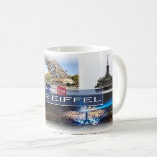 Mug Franc France - Tour Eiffel Paris -