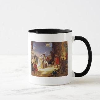 Mug Francois I avec Leonardo da Vinci