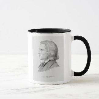 Mug Franz Liszt, gravé par Gonzenbach