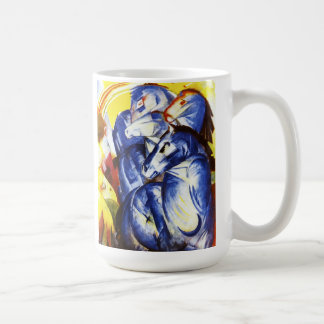 Mug Franz Marc la tour des chevaux bleus