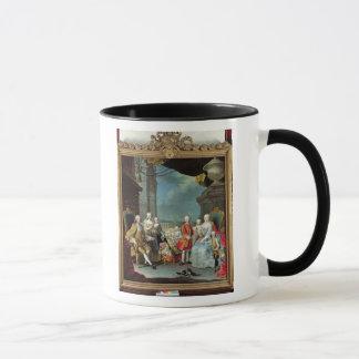 Mug Franz Stephan I avec son épouse Marie-Therese