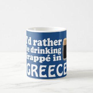 Mug Frappé en Grèce