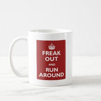 Mug Freak et courez autour
