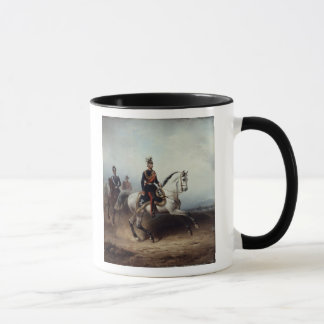 Mug Frederick III Wilhelm sur le champ de Bornstedter