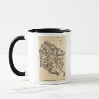 Mug Fredericksburg, la Virginie