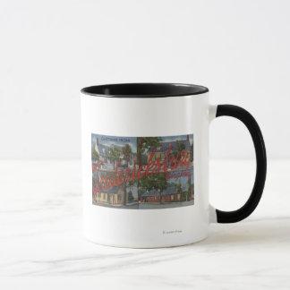 Mug Fredericksburg, la Virginie - grandes scènes de