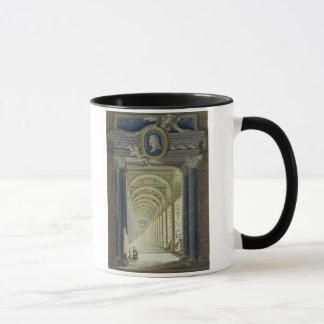 Mug Frontispice avec un portrait de médaillon de