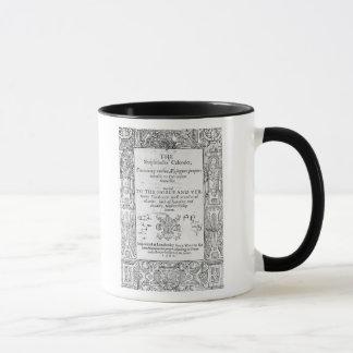 Mug Frontispice 'du Shepeards Calendar