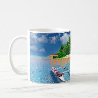 Mug Fuite tropicale d'île