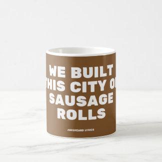 Mug Funny typographic misheard song lyrics