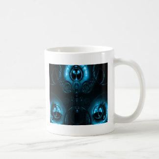 Mug Fusée bleue de lentille