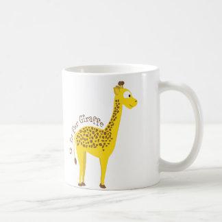 Mug G est pour la girafe
