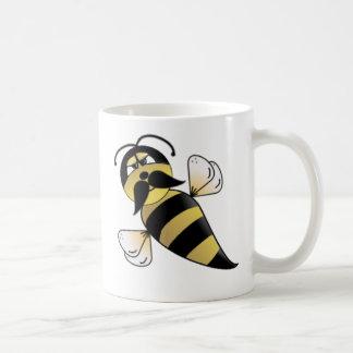 Mug Gaffez l'abeille avec la moustache
