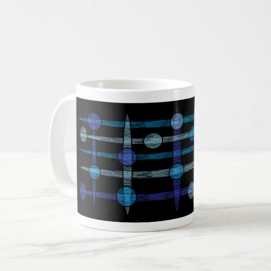 Mug galaxy bleu