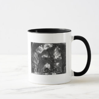 Mug Galerie ruinée de la villa Adriana chez Tivoli
