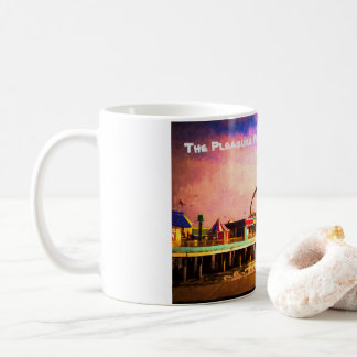 Mug Galveston, conception de pilier de plaisir de TX