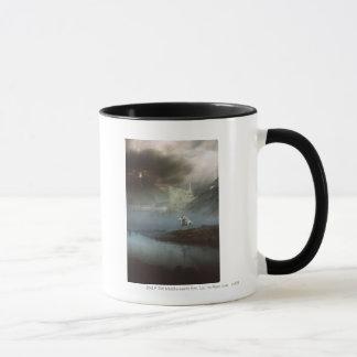 Mug Gandalf prend Hobbits à la ville gardée
