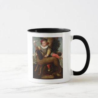 Mug Garçon et chien, ` Bibius Vincit