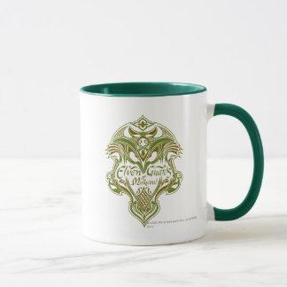 Mug Gardes d'Elven d'icône de bouclier de Mirkwood