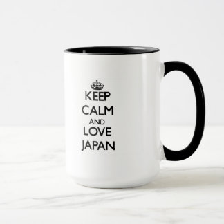 Mug Gardez le calme et aimez le Japon