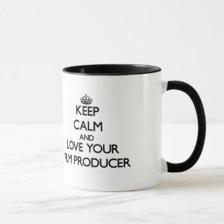 Mug Gardez le calme et aimez votre producteur