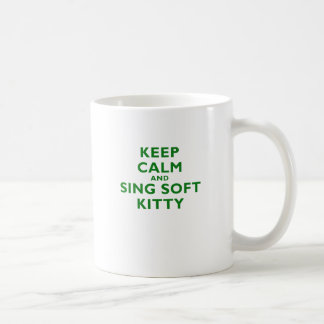 Mug Gardez le calme et chantez Kitty doux