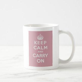 Mug Gardez le calme et continuez