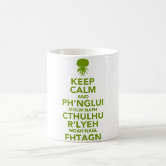 Mug Gardez le calme et le Fhtagn