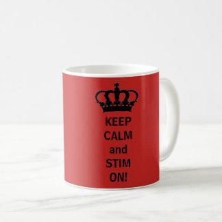 Mug Gardez le calme et le Stim dessus !