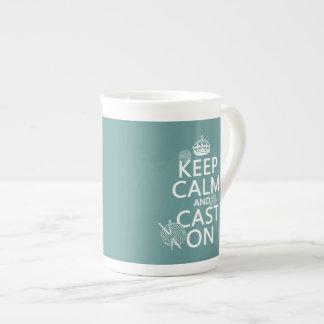 Mug Gardez le calme et moulez dessus - toutes les