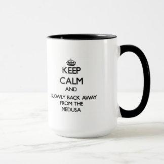 Mug Gardez le calme et soutenez lentement à partir des