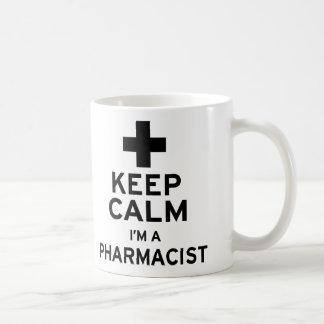 Mug Gardez le calme, je suis un pharmacien