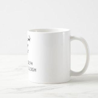 Mug Gardez le calme laissez le guide Sleigh de Rudolph
