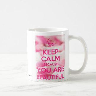 Mug Gardez le calme que vous êtes beaux