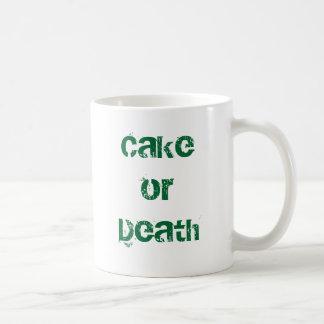 Mug Gâteau ou mort