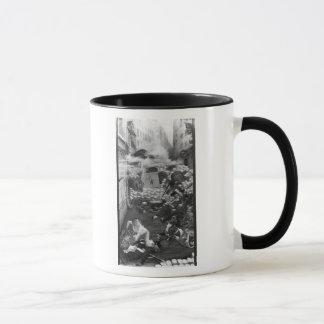 Mug Gavroche rassemblant des cartouches