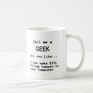 Mug Geek d'ordinateur
