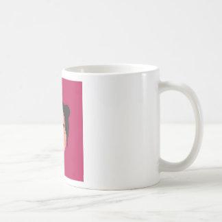 Mug Geisha de conception sur le rose