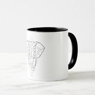 Mug Géométrique - éléphant